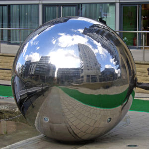 Stainless steel sphere