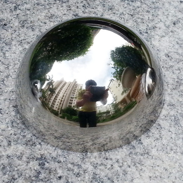 stainless steel himisphere