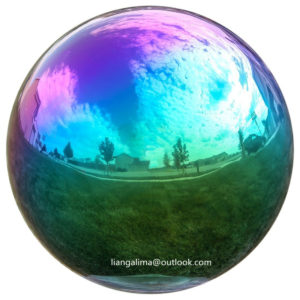 Color Plated Sphere