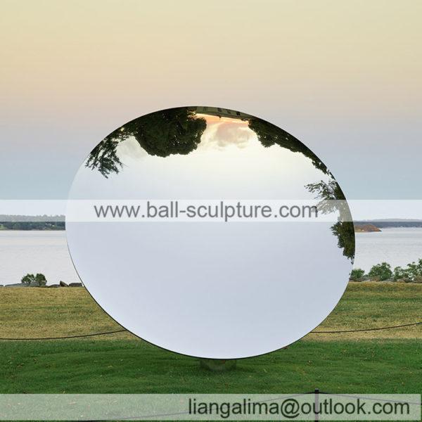 outdoor mirror disk