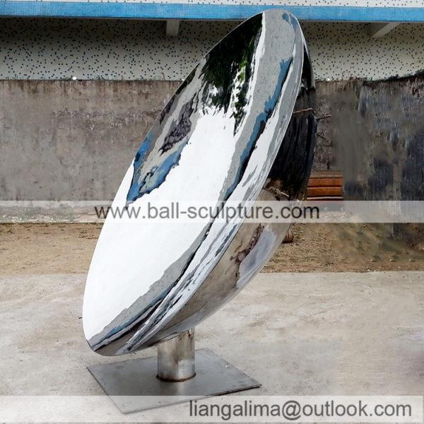 outdoor concave mirror dome