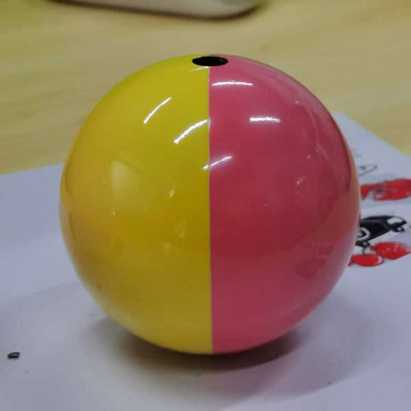 double color ball