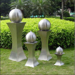 stainless Steel ball Fountain